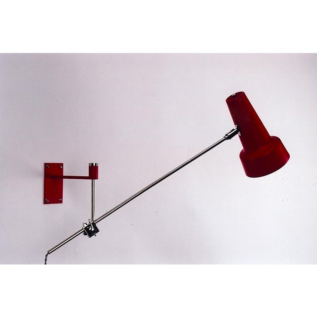 Image of 1970's Italian Modern Swing Arm Sconce