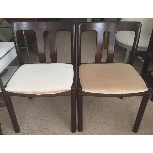 2 Mid-Century Danish Chairs -Mobelfabrik - Image 2 of 8