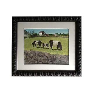 Block Island Cows Watercolor