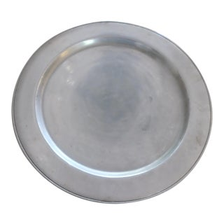 York Pewter Plate