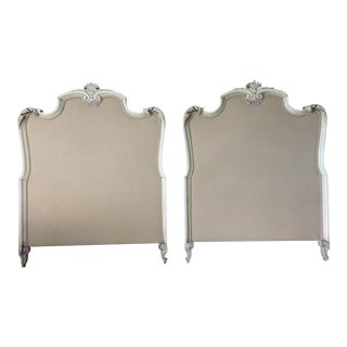 French-Style Twin Headboards - A Pair