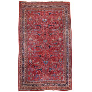 Room Sized Persian Bidjar Carpet
