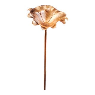 Lotus Leaf Flower - Gold