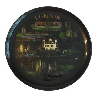 London Mid-Century Souvenir Tray