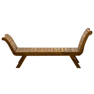 Antique Reclaimed Wood Bench Moving Sale 35% Off