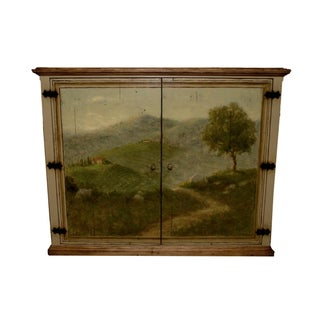 Woodland Furniture Hand Painted Sideboard Cabinet