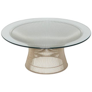 Warren Platner Knoll Coffee Cocktail Table
