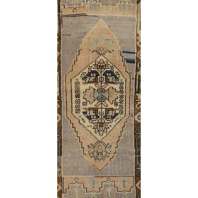 Turkish Yastik Rug: Vintage Turkish Yastik-Oushak Rug - 2′ × 4′3″