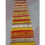 "Image of Vintage Handwoven Kilim Runner - 2'4"" x 9'11"""