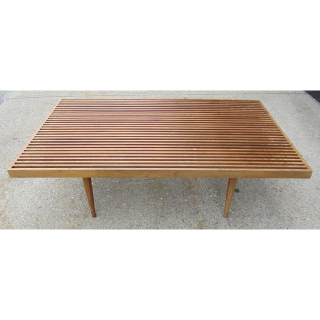 Georges Nelson Style Mid-Century Coffee Table - Image 2 of 3