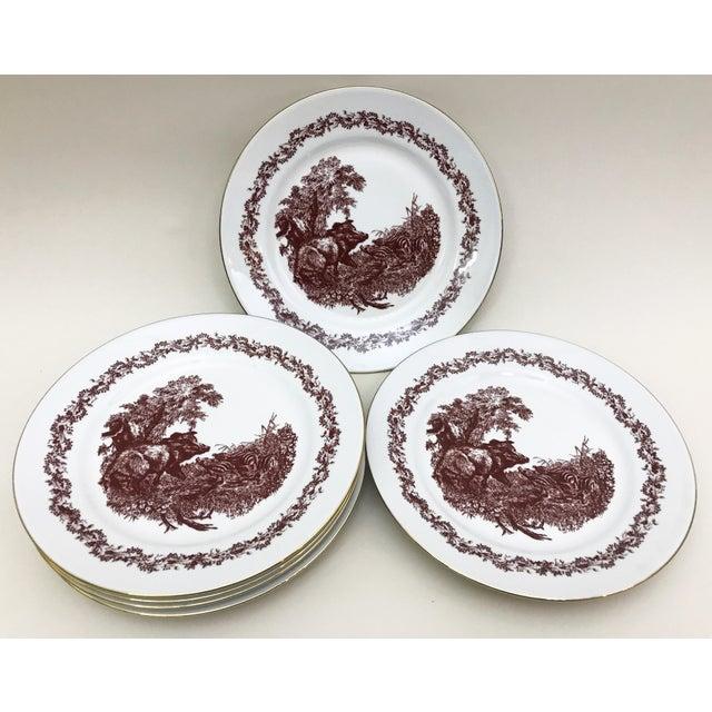 Black Forrest Theme Jlmenau Graf Von Henneberg Dinnerware - 22 Pieces - Image 5 of 11