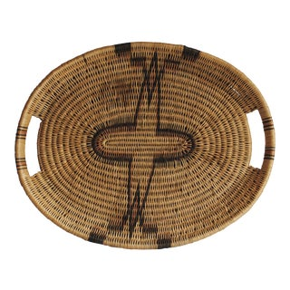 Handwoven Basket Tray