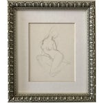 Nude Figural Drawing by Richard Ericson