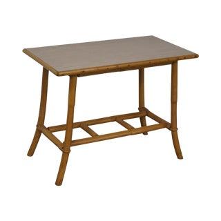 Vintage Vogue Rattan Side Table