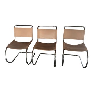 Mies Van der Rohe Mr Chairs - Set of 3