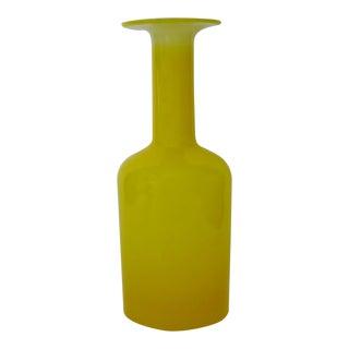 Vintage Holmegaard Glass Vase