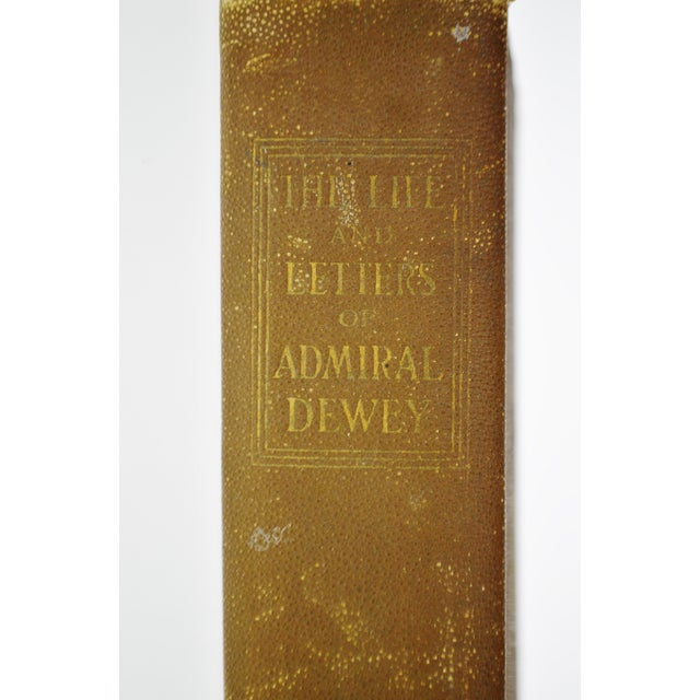 Antique 1899 The Life and Letters of Admiral Dewey Illustrated Book Spanish American War Manila Bay - Image 4 of 9