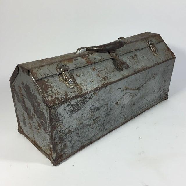 Vintage Industrial Toolbox - Image 4 of 8