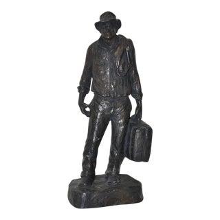 "Michael Garman ""Traveler"" Composite Sculpture C.1970"
