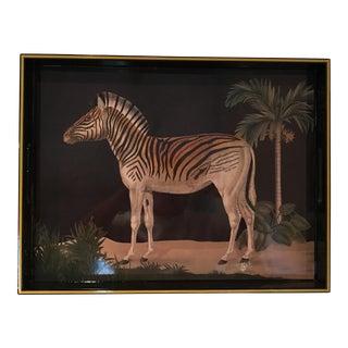 Zebra Lacquer Tray