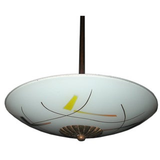 Vintage Stilnovo Style Pendant Light