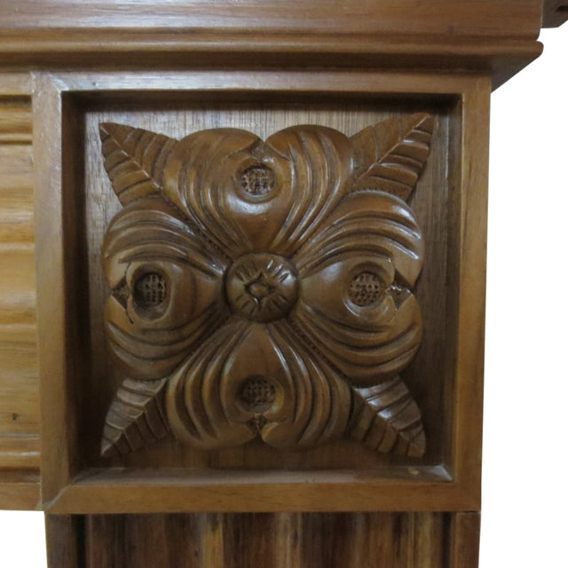 Checkendon American Walnut Mantle - Image 5 of 5