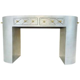 Glamorous Oval Vanity Table