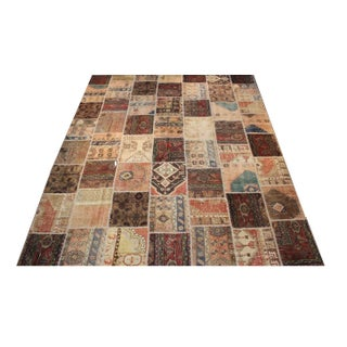 Anatolian Patchwork Rug - 9′4″ × 11′10″