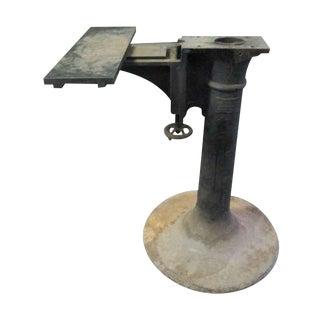 Original Industrial Iron Base