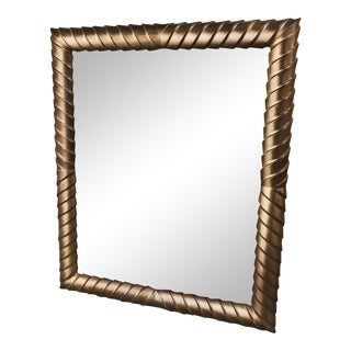 Framed Mirror With Beveled Edges