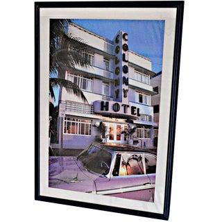 Colony Hotel at Miami Beach Photography