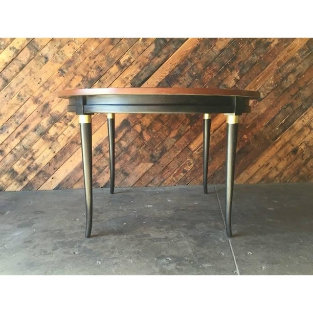Mid-Century Regency Dining Table - Image 3 of 5