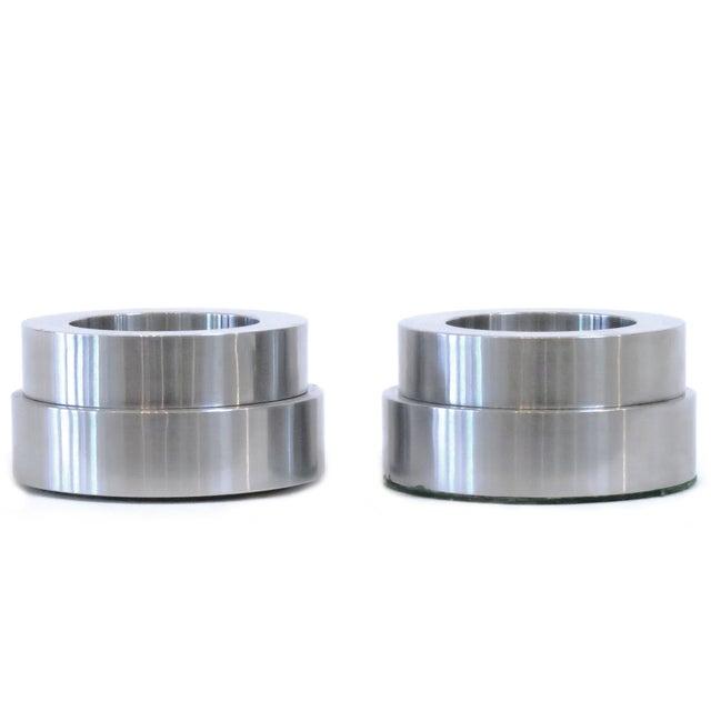 Image of Arco Art Aluminum Candleholders - A Pair