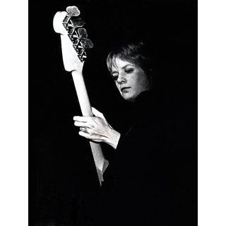 Original Tina Weymouth Talking Heads Photo Signed