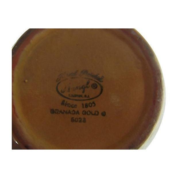 Stangl 22k Granada Gold Pottery Vase Chairish