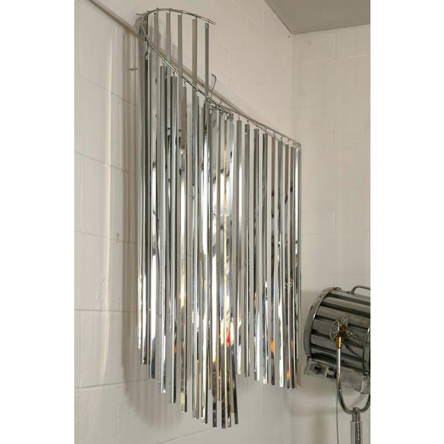 Curtis Jere Silver Kinetic Wall Hanging - Image 4 of 8