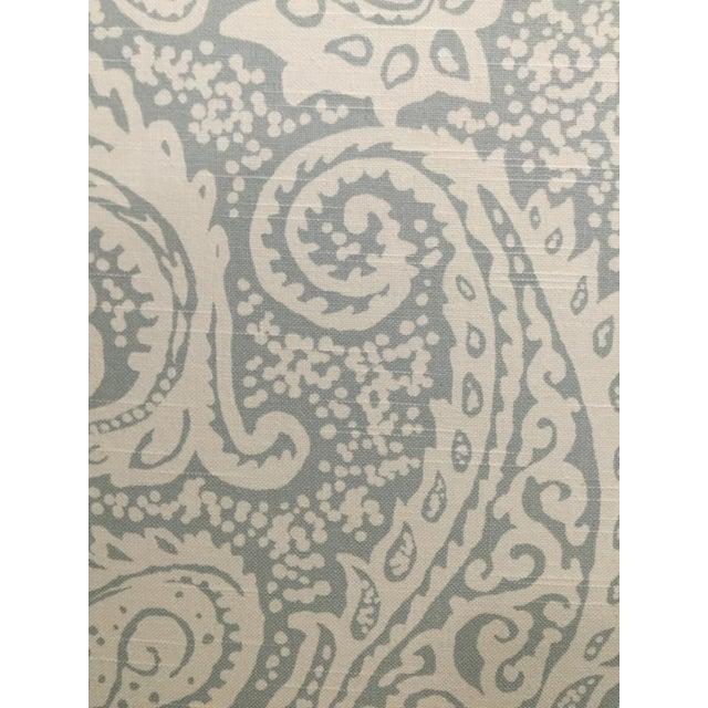 Robert Allen Upholstered Full Size Headboard - Image 4 of 4