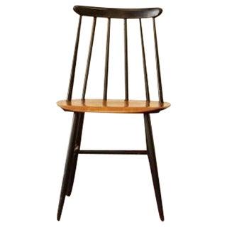 Ilmari Tapiovaara Teak & Black Lacquer Chair