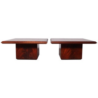Pair of Frank Lloyd Wright Tables for Heritage Henredon