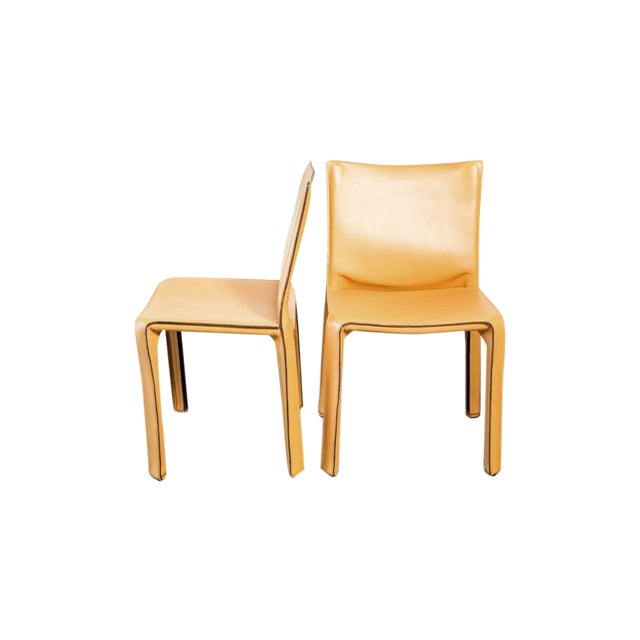 Cassina Cab Dining Chairs - Set of 4 - Image 1 of 4