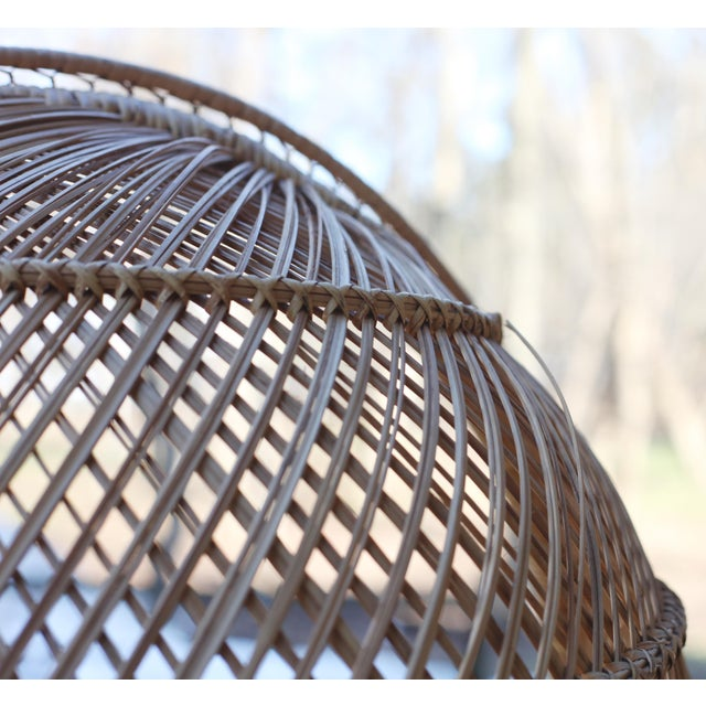 Vintage Rattan Porter Chair - Image 6 of 9