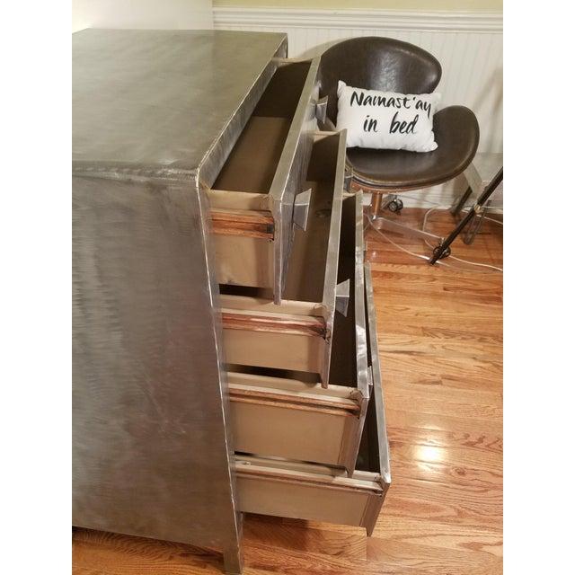 Norman Bel Geddes Metal Dresser - Image 7 of 7
