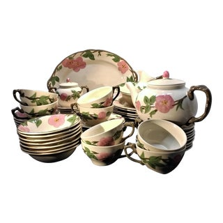 Franciscan Desert Rose Dish Set- 60 Pieces