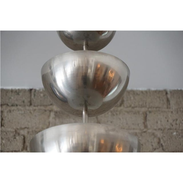 Modernist Graduated Dome Pendant - Image 3 of 6