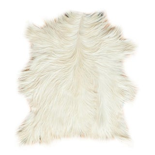 "Contemporary Angora Skin Rug - 2'2"" X 3'4"""
