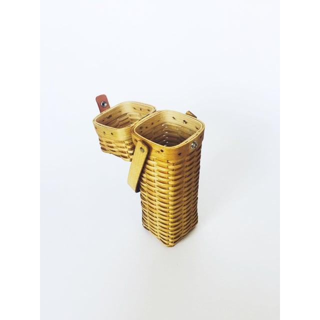 Vintage Wine Basket - Image 3 of 6