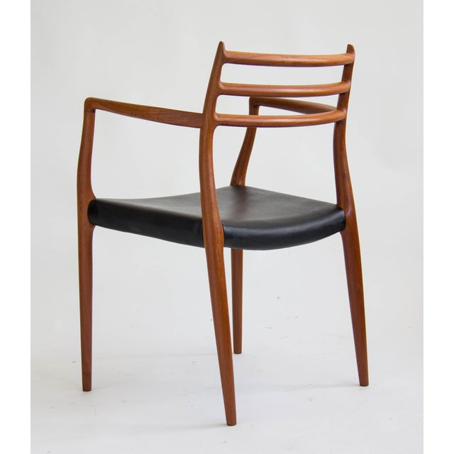Niels Møller #78 Dining Chairs - Set of 6 - Image 5 of 11