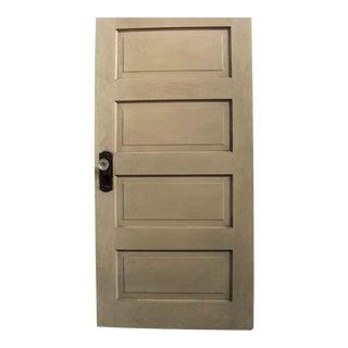 Horizontal Panel Pine Wood Door