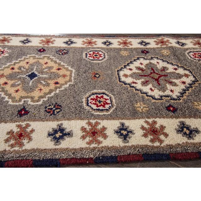 "Apadana - Modern Kazak Rug, 2'1"" x 6'6"" - Image 5 of 8"