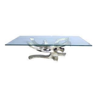 Sculptural Bronze Table Base